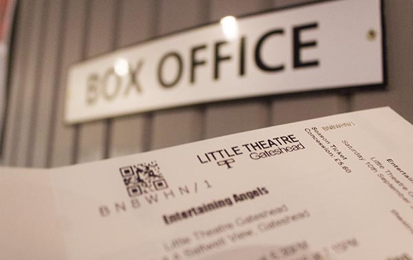 Online ticketing at Little Theatre Gateshead